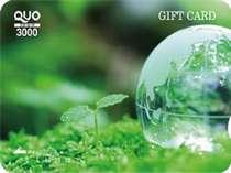 3000円分のQUOカード付きプラン(こだわりの朝食バイキング付)