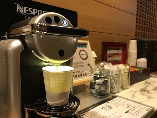 【早割30】30日前までお得♪素泊まりプラン★本格コーヒーが味わえるCafeチケット付き