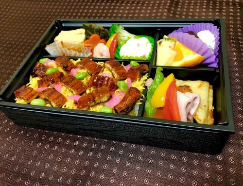 【夕食、椿山荘特製うなぎちらし弁当】と朝食付きプラン