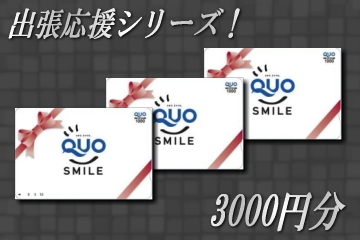 出張deお小遣い♪QUOカード3000円セットプラン