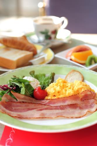 朝食付き セミダブルカップルプラン