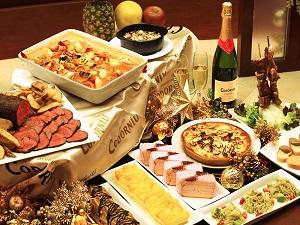 クリスマスを満喫★2016Xmasプラン★12:00アウト≪クリスマスディナー・朝食ビュッフェ付き≫
