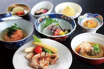 ホテルde晩ごはん☆日本料理『銀座』の足羽御膳一泊二食セットプラン