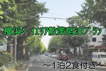 横浜ベイエリア散策宿泊プラン~バス・地下鉄1日乗車券、1泊2食付き~