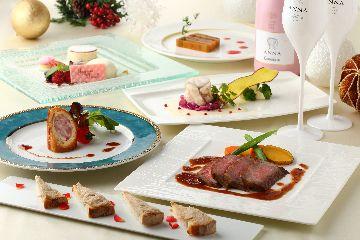 聖なる夜のクリスマスディナー付宿泊プラン 18:00~(12月23日.24日限定)