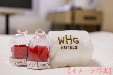 女子旅はこれで決まり!テレビで話題の携帯紙石鹸「ポケシャボン」&ソープフラワー「プティ」付 ~素泊まり~