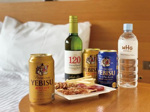 「#お部屋でほろ酔い」翌朝ゆっくり部屋飲みビールプラン«朝定食付き»