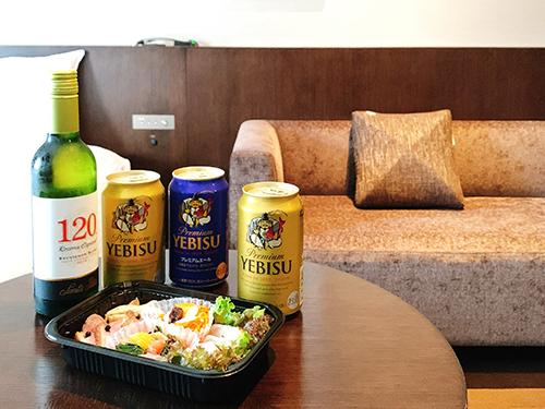 「#お部屋でほろ酔い~ビールプラン」ホテルオリジナル・シェフスペシャルデリ«素泊り»