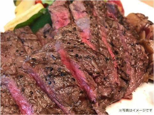 肉食必見★じゅわ~っと旨い!朝ステーキ♪期間限定パワフル朝食プラン!