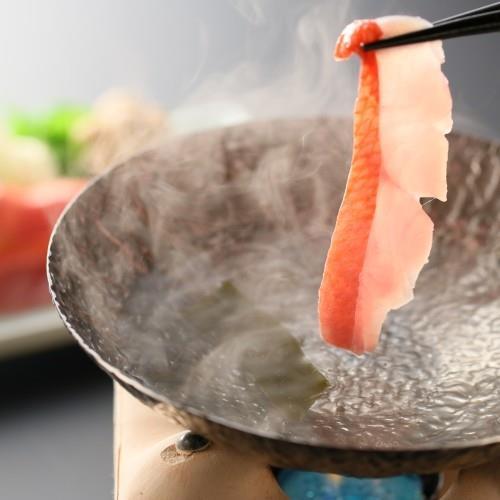 【金目鯛満喫】1匹丸ごと姿煮・しゃぶしゃぶ・塩焼き 3種の金目鯛料理に舌鼓♪