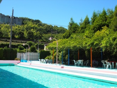 【早期30】【夏休み☆グレードアップ】プールのある宿☆25Mの開放感満喫サイズ&海の家送迎付き