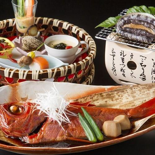 【早期30】【和モダンフロア粋-sui-】6大特典&金目鯛・あわび・国産牛の夕食