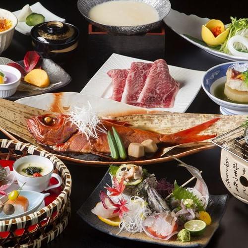 迷ったらコレ【お料理グレードUP】あわび・金目鯛姿煮・国産牛・海鮮ちらし寿司