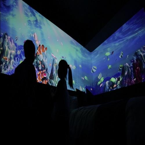 【GoToトラベル割引対象】☆インスタ映え☆《1日1室限定》「美ら海ツインルーム」で沖縄の海を体感 (素泊まり)