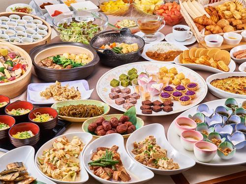 <スタンダード>和洋琉ビュッフェスタイルの朝食付きプラン