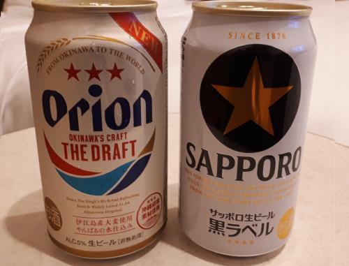 お部屋でグイっと♪ビール飲み比べで・・カリー!(乾杯!)☆素泊まり