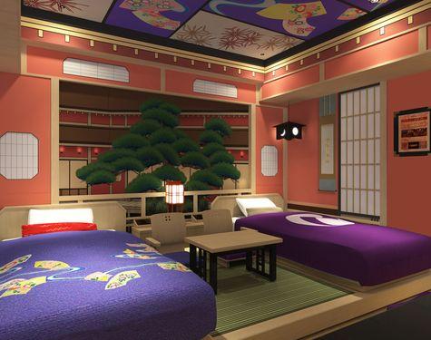 【歌舞伎ルーム「桜の間」・「松の間」】「歌舞伎」の世界感を体感できるコンセプトルーム