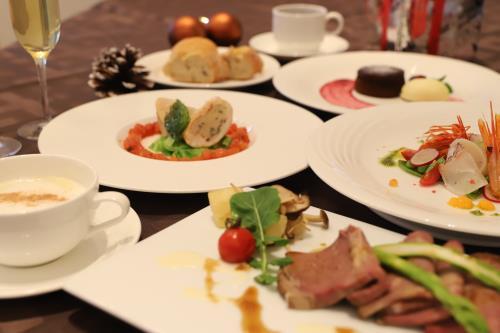 クリスマス期間限定1泊2食付♪ 大切な人と過ごす特別なコース料理付プラン