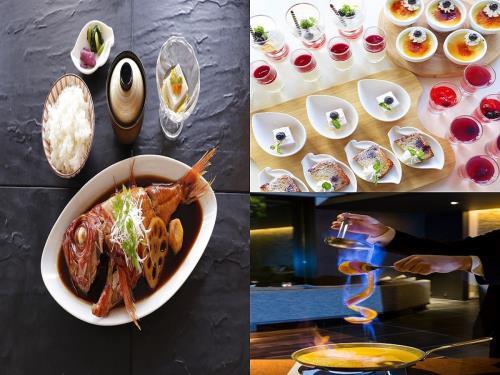 金目鯛の煮付け御膳付き1泊2食付ワゴンデザート食べ放題 駐車場無料プラン