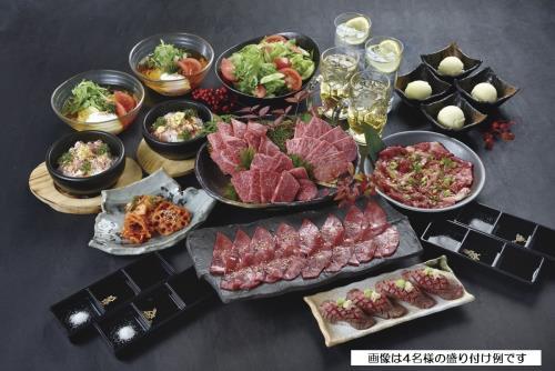 【今日は焼肉でプチ贅沢♪】 「松阪牛焼肉M」 お食事付きプラン(素泊まり) ※GoToトラベル割引適用外