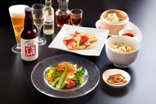 1泊2食付宿泊プラン ホテルで楽しむ中華料理♪